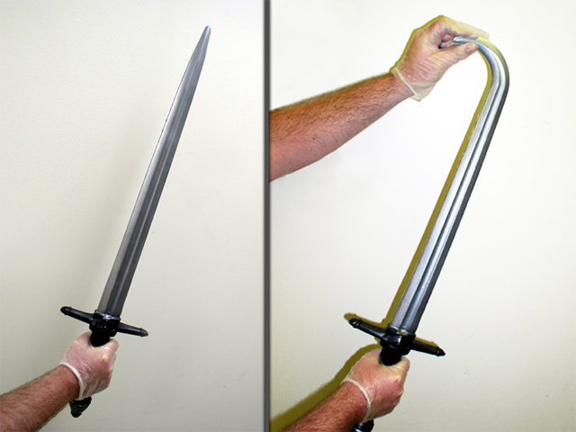 Výroba bezpečného meče