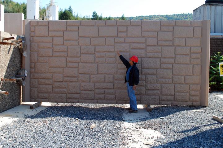 Nadměrné odlitky z betonu